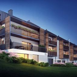 Apartamenty Słoneczna Góra  w Szczyrku, bielski Szczyrk