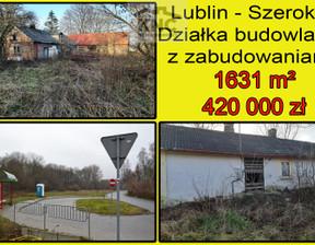 Działka na sprzedaż, Lublin Szerokie, 420 000 zł, 1631 m2, 2243