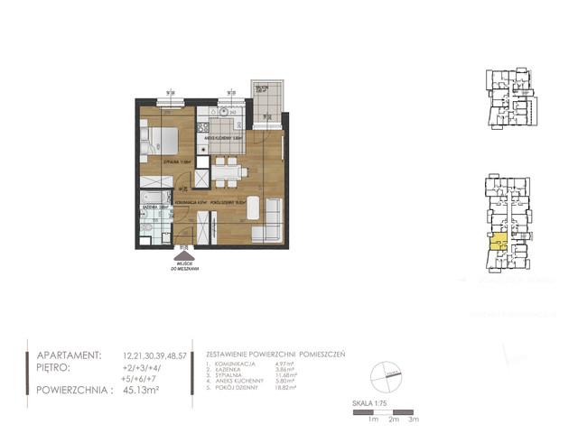 Mieszkanie w inwestycji Mokra 10, budynek Budynek A, symbol 12 » nportal.pl