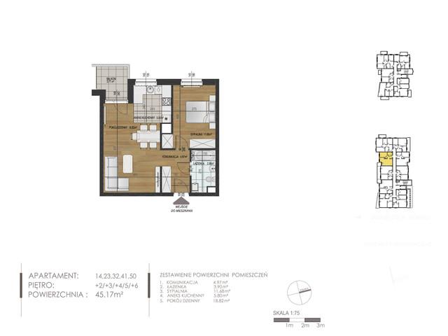 Mieszkanie w inwestycji Mokra 10, budynek Budynek A, symbol 32 » nportal.pl