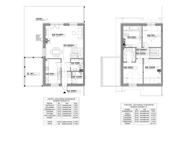 Dom w inwestycji Osiedle Dębowe etap VII, budynek Etap VII, symbol 1B » nportal.pl