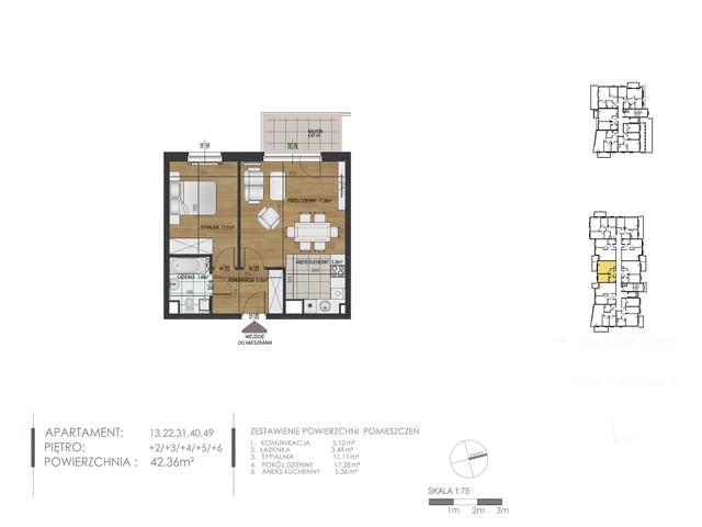 Mieszkanie w inwestycji Mokra 10, budynek Budynek A, symbol 40 » nportal.pl