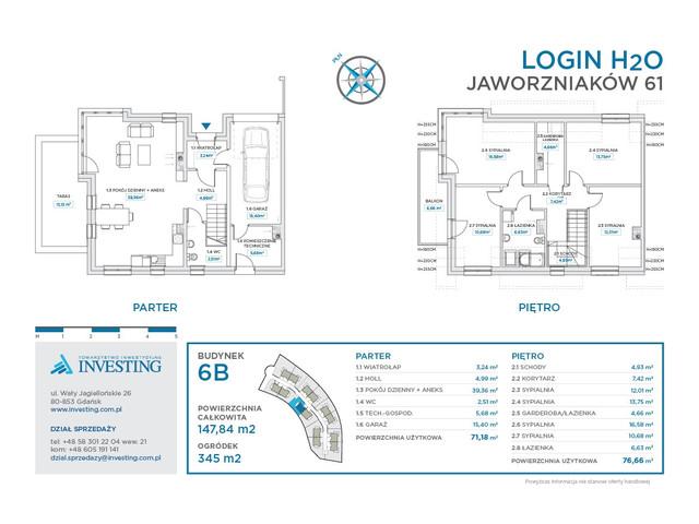 Dom w inwestycji LOGIN H2O, symbol 6B » nportal.pl
