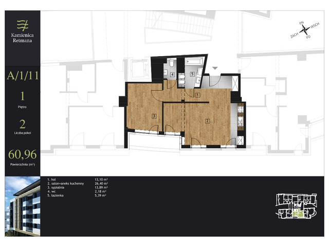 Mieszkanie w inwestycji Kamienica Retmana, symbol A.1.11 » nportal.pl