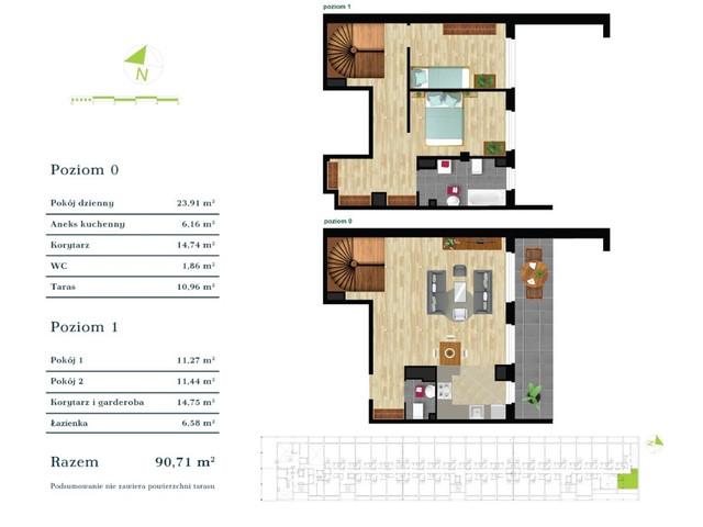 Mieszkanie w inwestycji Apartamenty Zdrowie w Łodzi, symbol K4.II.12 » nportal.pl