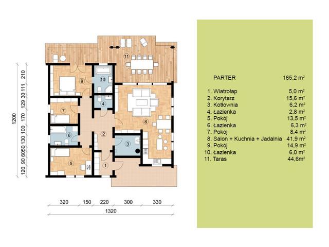 Dom w inwestycji Satori House, budynek Opcja Dom z płytą fundamentową, symbol S04P02 » nportal.pl