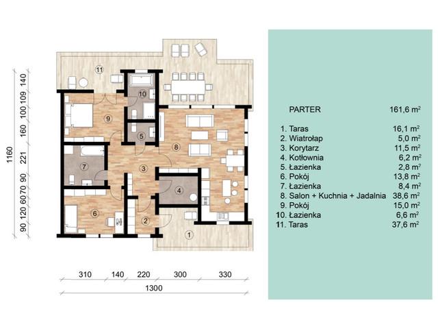 Dom w inwestycji Satori House, budynek Opcja Pod klucz z płytą fundamentową, symbol S06P09 » nportal.pl