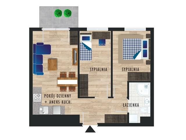 Mieszkanie w inwestycji Karoliny V, budynek Etap V, symbol 9 » nportal.pl