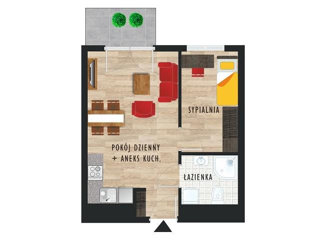 Mieszkanie w inwestycji Karoliny V, budynek Etap V, symbol 11 » nportal.pl