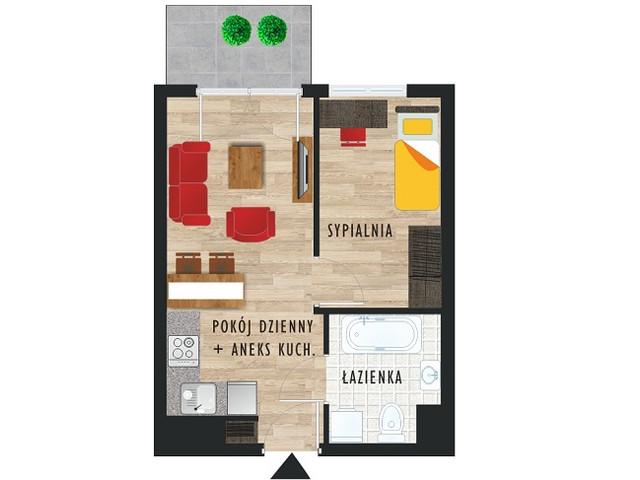 Mieszkanie w inwestycji Karoliny V, budynek Etap V, symbol 25 » nportal.pl
