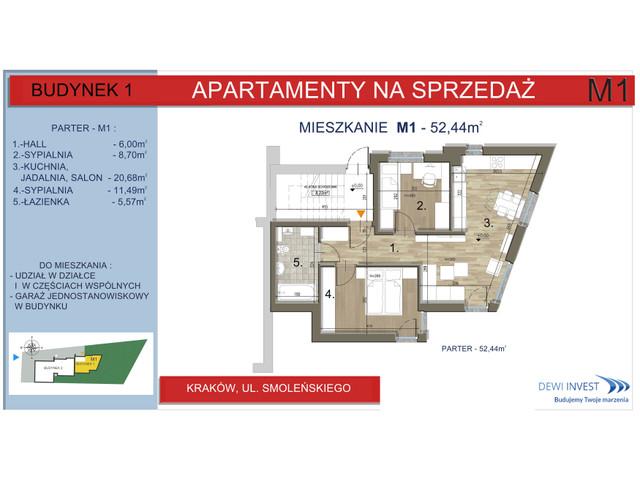 Mieszkanie w inwestycji Apartamenty nad Wilgą, symbol M1 » nportal.pl