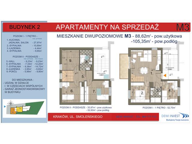 Mieszkanie w inwestycji Apartamenty nad Wilgą, symbol M3 » nportal.pl