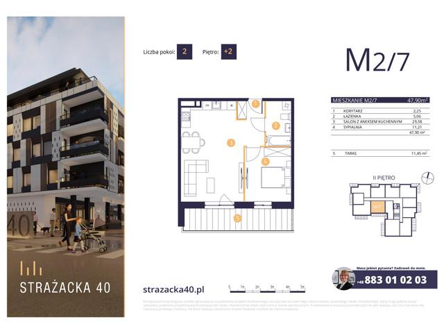 Mieszkanie w inwestycji Strażacka 40, symbol M2/7 » nportal.pl