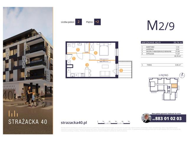 Mieszkanie w inwestycji Strażacka 40, symbol M2/9 » nportal.pl