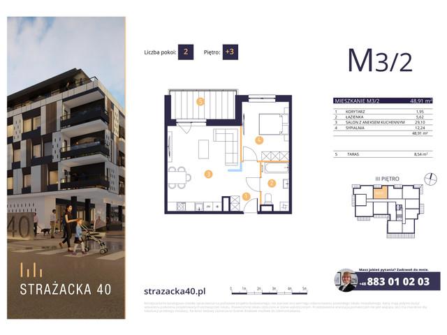 Mieszkanie w inwestycji Strażacka 40, symbol M3/2 » nportal.pl