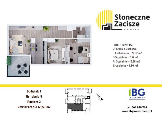 Mieszkanie w inwestycji Słoneczne Zacisze, budynek I, symbol I9 » nportal.pl