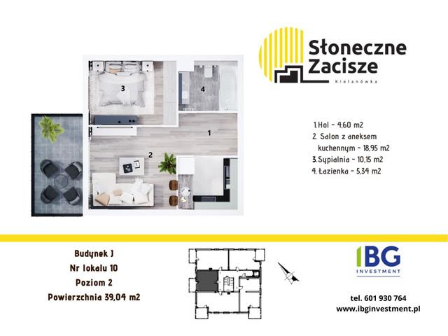 Mieszkanie w inwestycji Słoneczne Zacisze, budynek J, symbol J10 » nportal.pl