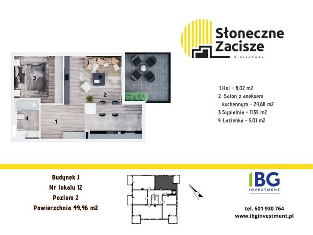 Mieszkanie w inwestycji Słoneczne Zacisze, budynek J, symbol J12 » nportal.pl