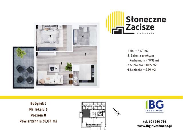 Mieszkanie w inwestycji Słoneczne Zacisze, budynek J, symbol J3 » nportal.pl