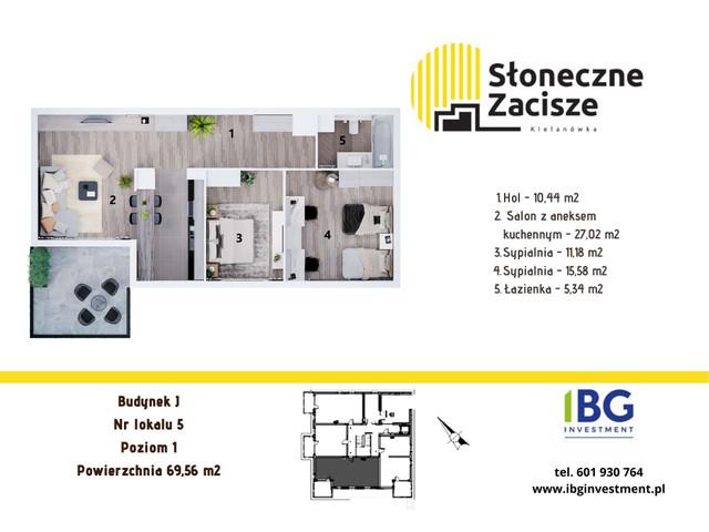 Mieszkanie w inwestycji Słoneczne Zacisze, budynek J, symbol J5 » nportal.pl