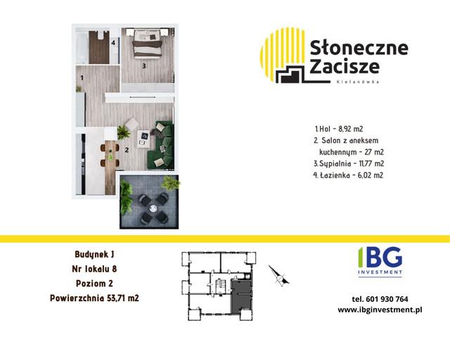 Mieszkanie w inwestycji Słoneczne Zacisze, budynek J, symbol J8 » nportal.pl