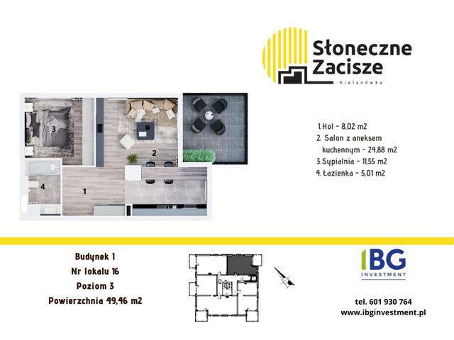 Mieszkanie w inwestycji Słoneczne Zacisze, budynek I, symbol I16 » nportal.pl