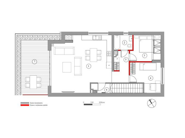 Mieszkanie w inwestycji Chmielowice Apartamenty, budynek Rubinowa, symbol 23-P2 » nportal.pl