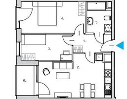Mieszkanie na sprzedaż, Gdańsk Śródmieście JAGLANA, 496 883 zł, 57 m2, RS014