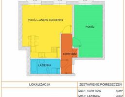 Mieszkanie na sprzedaż, Lublin M. Lublin Śródmieście Centrum, 349 050 zł, 53,7 m2, CLV-MS-305
