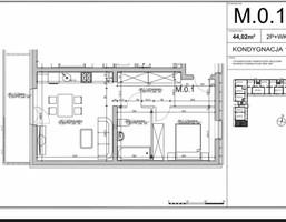 Mieszkanie na sprzedaż, Lublin M. Lublin Dziesiąta, 192 367 zł, 44,02 m2, CLV-MS-828-2