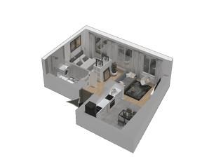 Mieszkanie w inwestycji KW51, symbol M53