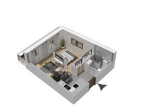Mieszkanie w inwestycji KW51, symbol M36