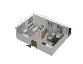 Mieszkanie w inwestycji KW51, symbol M40
