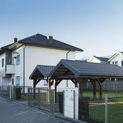 Dom w inwestycji Osiedle Krokusów, symbol 38A