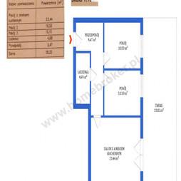 Mieszkanie na sprzedaż, Bydgoszcz Szwederowo Leszczyńskiego, 261 408 zł, 58,22 m2, 510849