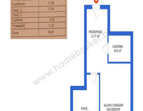 Mieszkanie na sprzedaż, Bydgoszcz Szwederowo Leszczyńskiego, 201 620 zł, 45,41 m2, 510850