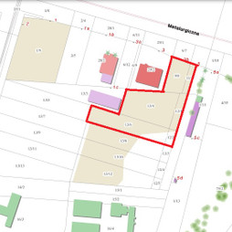 Działka na sprzedaż, Lublin Hajdów-Zadębie Zadębie Mełgiewska, 1 442 600 zł, 7213 m2, 163