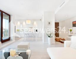 Mieszkanie na wynajem, Gdynia Śródmieście A. Hryniewickiego, Sea Towers, 5500 zł, 85 m2, 250