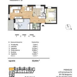 Mieszkanie w inwestycji Osiedle Słoneczne, budynek Budynek 1, symbol 28