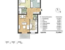 Mieszkanie w inwestycji Osiedle Słoneczne, budynek Budynek 2, symbol 55