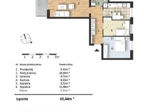 Mieszkanie w inwestycji Osiedle Słoneczne, budynek Budynek 1, symbol 40