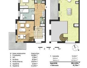 Mieszkanie w inwestycji Osiedle Słoneczne, budynek Budynek 2, symbol 54