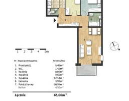 Mieszkanie w inwestycji Osiedle Słoneczne, budynek Budynek 2, symbol 56