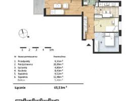 Mieszkanie w inwestycji Osiedle Słoneczne, budynek Budynek 1, symbol 37