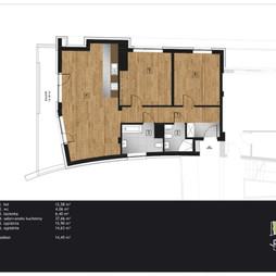 Mieszkanie w inwestycji Kamienica Retmana, symbol A.2.14
