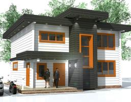 Hotel, pensjonat w inwestycji Satori House (śląskie), budynek Opcja Dom, symbol S01P06p