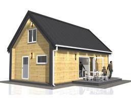 Dom w inwestycji Satori House (śląskie), budynek Opcja Pod klucz z płytą fundamentową, symbol S06P10