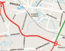 Działka na sprzedaż, Wrocław Fabryczna Leśnica Średzka, 2 550 000 zł, 5000 m2, 71