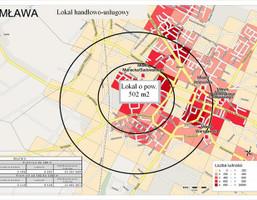 Lokal na wynajem, Mławski Mława, 22 000 zł, 502,2 m2, 601